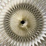 Sol de Origami Foto de archivo