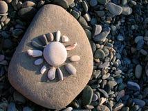 Sol de piedra Foto de archivo libre de regalías