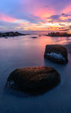 Sol de piedra del arena de mar Fotografía de archivo libre de regalías