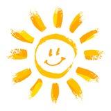 Sol de sorriso Fotos de Stock Royalty Free