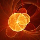 Sol del caos ilustración del vector