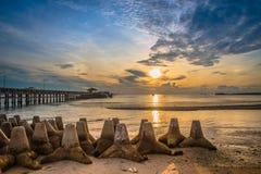 Sol del mar Imagenes de archivo