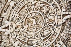 Sol del maya fotos de archivo