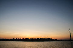 sol del paisaje Imagen de archivo