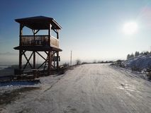 Sol do inverno Fotos de Stock Royalty Free