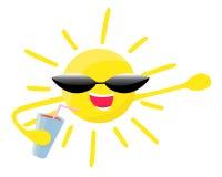 Sol do verão Foto de Stock Royalty Free