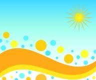 Sol do verão Fotografia de Stock
