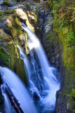 Sol Duc Falls. In Olympic National Park Royalty Free Stock Photo