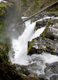 Sol Duc Falls. In Olympic National Park Stock Photo