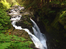 Sol Duc Falls, WA, USA Stock Photography