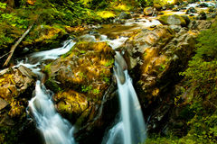 Sol duc Waterfall Stock Images