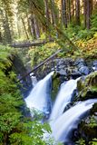 Sol Duc. Waterfall Stock Image