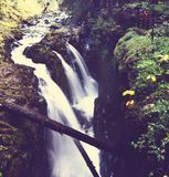 Sol Duc waterfall Royalty Free Stock Image