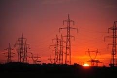 Sol eléctrico Foto de archivo libre de regalías