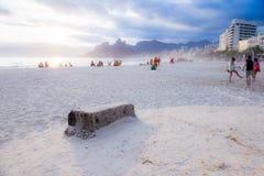 Sol en la playa Foto de archivo