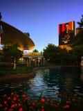 Sol en Las Vegas imagen de archivo