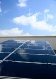 sol- energi Arkivbild