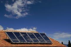 sol- energi Arkivfoto