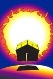 sol- energi Arkivfoton