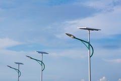 Sol- energi och himmel Royaltyfria Foton