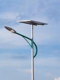 Sol- energi och himmel Royaltyfria Bilder