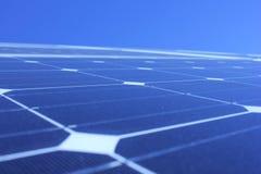 Sol- energi, solpaneler, renewables, PV-enheter Royaltyfri Fotografi