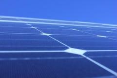 Sol- energi, solpaneler, renewables, PV-enheter royaltyfri bild