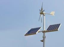 sol- enhet för inhemsk ström royaltyfria bilder