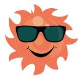 Sol - exponeringsglas Royaltyfri Foto