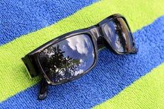 Sol- exponeringsglas Arkivfoton