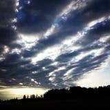 Sol för bra morgon Arkivfoton