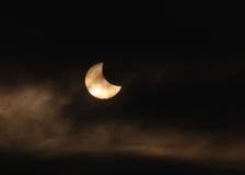 Sol- förmörkelse Royaltyfri Foto