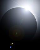 Sol- förmörkelse stock illustrationer
