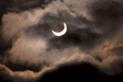 sol- förmörkelse 6 Arkivfoto