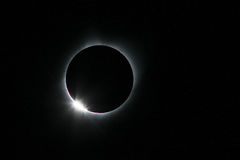 Sol- förmörkelse av Augusti 21, 2017 Royaltyfri Foto
