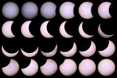 Sol- förmörkelse för en bakgrund 20 03 15 Royaltyfri Foto