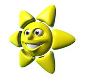 Sol feliz Imagen de archivo