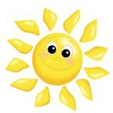 Sol feliz stock de ilustración
