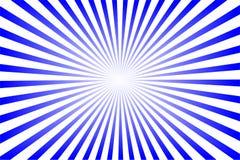 Sol fr?o azul stock de ilustración