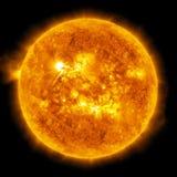 Sol. Global uppvärmning Royaltyfria Bilder