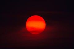 Sol grande Foto de archivo