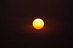 Sol grande Imagenes de archivo