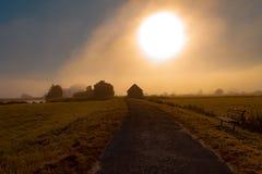 Sol grande Foto de Stock Royalty Free