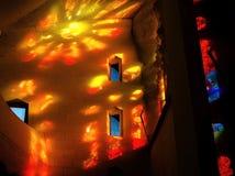 Sol i kyrkan Royaltyfria Foton