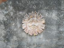 Sol i sten royaltyfri fotografi