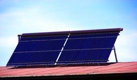 sol- kraftverk 04 Arkivbild