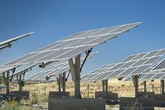 Sol- kraftverk fotografering för bildbyråer