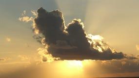 Sol kysst morgon 2 Royaltyfria Foton