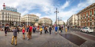 SOL Madrid Spain royaltyfri fotografi