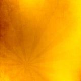 Sol med strålillustrationen, gammalt papper med fläckar Royaltyfri Fotografi